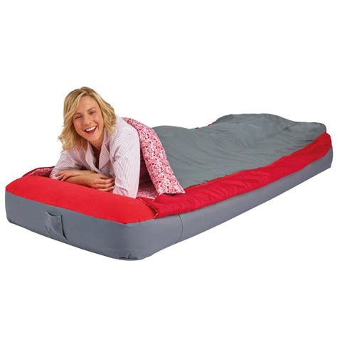 colchon cing decathlon worlds apart deluxe adult single inflatable ready bed new