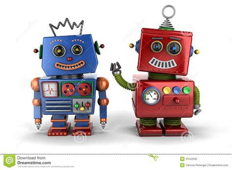 toy robot buddies stock photography image 31542032