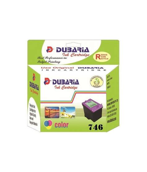 Canon Catridge Cl 746 Color dubaria 746 colour ink cartridge for canon cl 746 colour