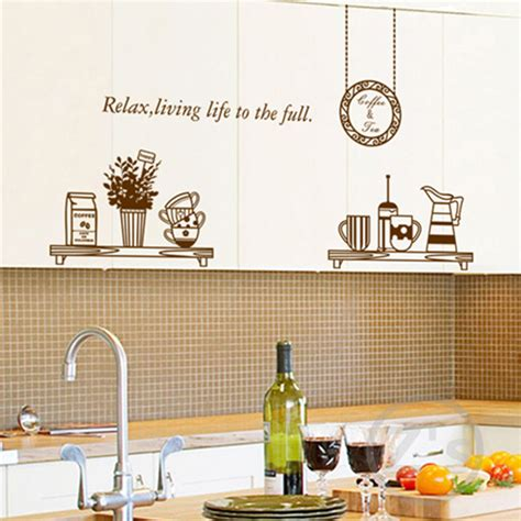wall sticker for kitchen kitchen wall decals removable wall sticker home decoration
