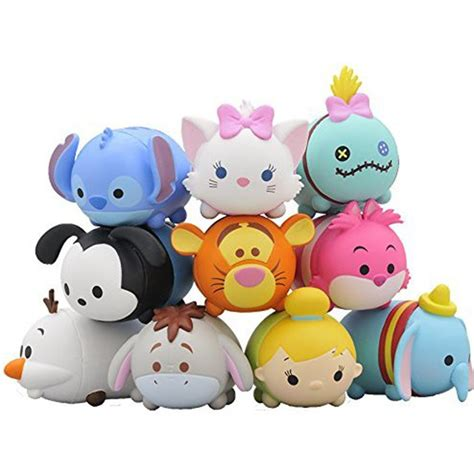 Figure Tsum Tsum Seri Set tsum tsum disney friends mini figure 10 pcs set stitch olaf a a shop