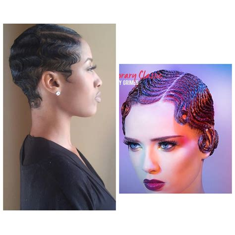 Black Hair Finger Waves Hairstyles by Finger Waves Black Hair Hairstylegalleries