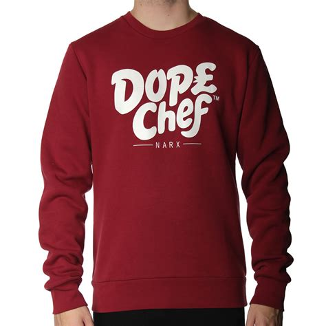 Sweater Chef dope chef signature sweatshirt dope chef from the menswear site uk