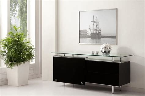 Glass Sideboards by Oxygen Ultra Chic Contemporary Glass Sideboard