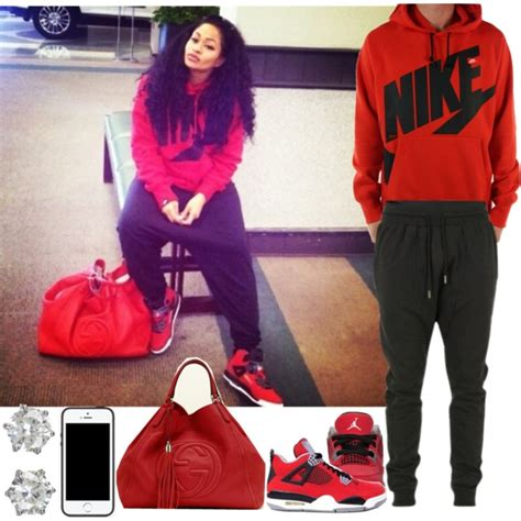Sweater Hoodie Michael Nike Basket Yomerch 1 nike swag created by blasianmami16 on polyvore polyvore