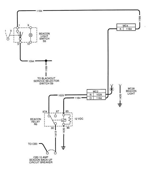 beacon light wiring diagram wiring diagram with description