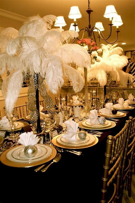 Great Gatsby decorations   Great Gatsby Part II The