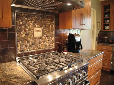 Unusual Kitchen Backsplashes | unique kitchen backsplash rustic kitchen other metro