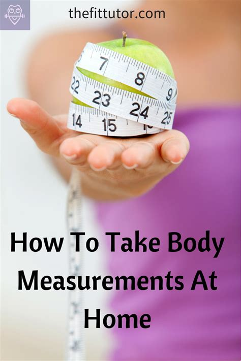 how to take measurements at home