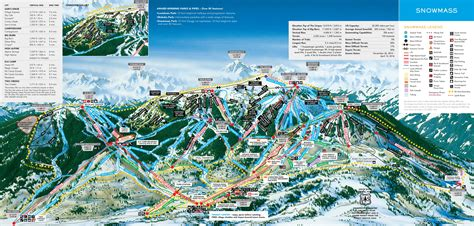 snowmass trail map aspen snowmass ote travel consulting