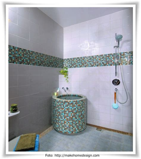 desain kamar mandi basah model kamar mandi rumah carapedia