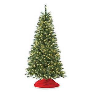 6 pre lit artificial christmas tree deluxe cashmere with