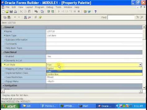 forms oracle tutorial pdf oracle apps tutorial 5 oracle forms using check box radio
