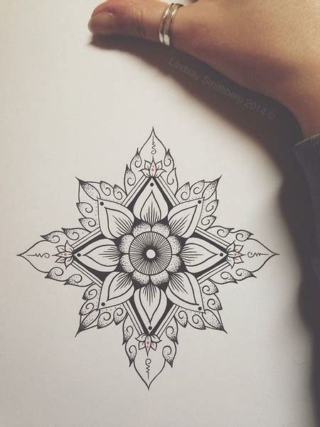 tattoo mandala pinterest bonus geometric lotus prettiest mandala tattoos on