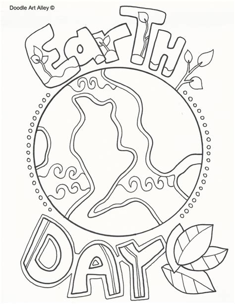 doodle alley name earth day coloring pages doodle alley