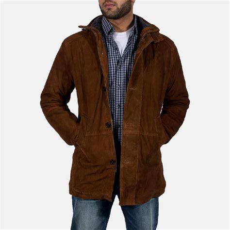 Jaket Suede Suede Jacket mens sheriff brown suede jacket