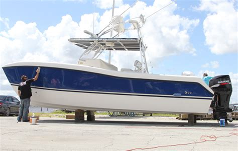 vinyl wrap a boat wrapping your boat florida sportsman