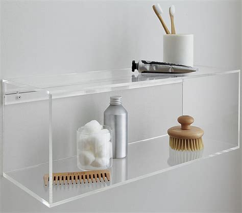 Acrylic Bathroom Shelves 17 Best Images About Acrylic Storage Organizer On Pinterest Shelves Cube Shelves And Acrylics