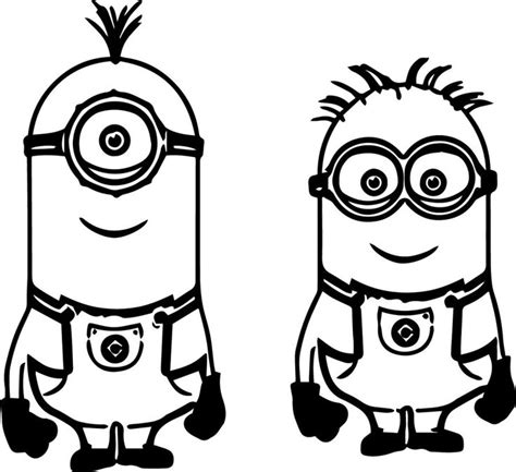 coloring pages minions cute cute minion coloring pages the one eyed minion coloring