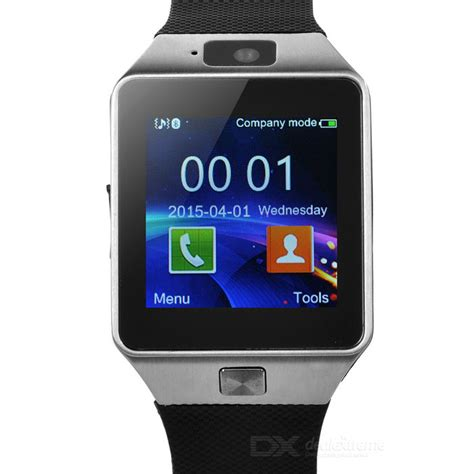 Tangan Pertama Smart Phone Dz09 dz09 bluetooth smart wrist w sim slot pedometer
