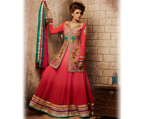 dress design with jacket new indian jacket style dresses anarkali suits 2016 2017