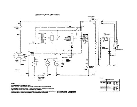 schematic diagram diagram parts list for model r530aw