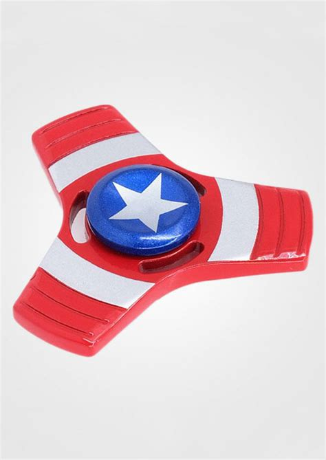 Fidget Spinner Capten America Spinner triangle captain america finger fidget spinner fairyseason
