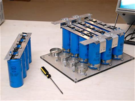 project of capacitor bank my electric engine capacitor bank