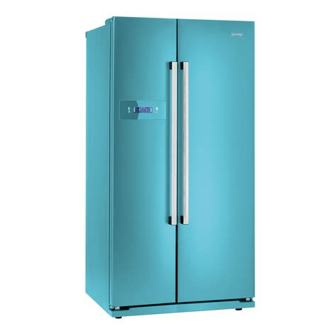 side to side kühlschrank k 252 hlschrank blau gorenje s chichester