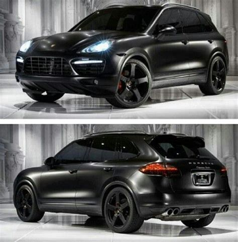 porsche suv black porshe cayenne my favorite mom car my style pinterest