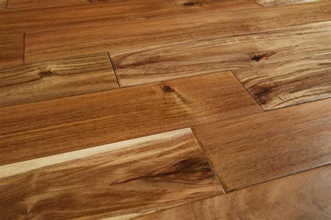 mazama hardwood handscraped tropical collection acacia 4 3 4 quot random length