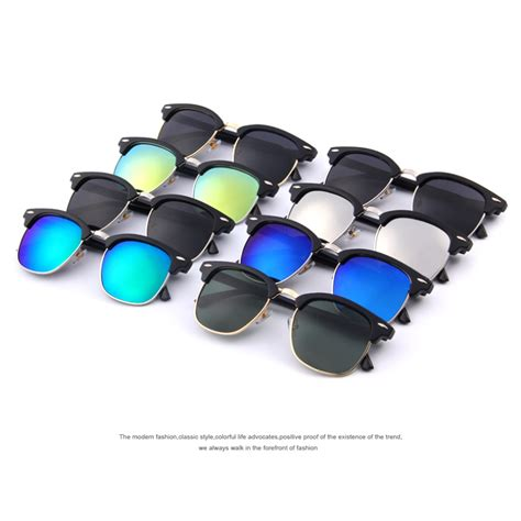 Xc Kacamata Unisex Retro Classic Uv400 Polarized Sunglasses Outdoor merry s retro rivet polarized sunglasses 2016 classic brand designer unisex sunglasses uv400