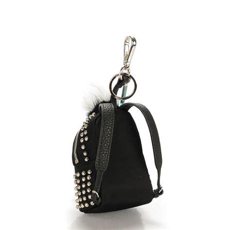 Fendi Doggie Charm Bag 332 fendi fox nutria fur studded backpack bag bug charm black 140101