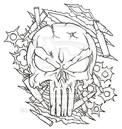 punisher skull tattoo designs punisher skull design by ethankraft7379 on deviantart