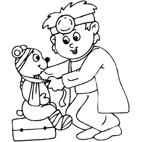 Www Preschoolcoloringbook Com Doctor Hospital Coloring Doctor Colouring Pages