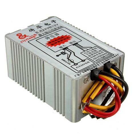 Power Supply Panel Box 12v 30a 24v to 12v 30a car power supply inverter converter conversion device alex nld