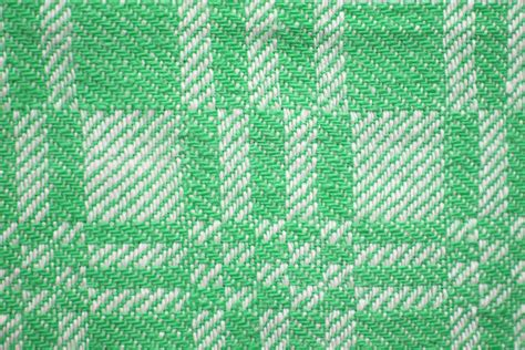 green and white upholstery fabric green and white woven fabric texture with squares pattern