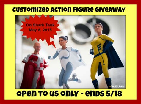 figure giveaway customized figure giveaway ends 5 18 us only