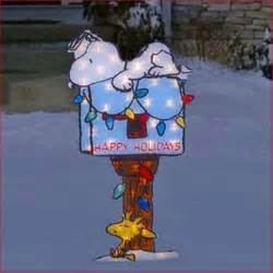 peanuts quot snoopy quot resting on mailbox lighted 42 quot