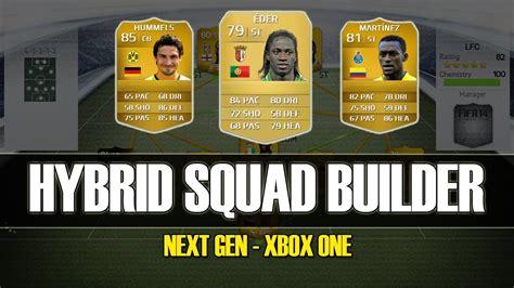 fifa 14 budget 10k epic hybrid squad builder with eder