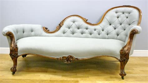 victorian chaise lounge sofa a victorian carved walnut sofa chaise lounge antiques atlas
