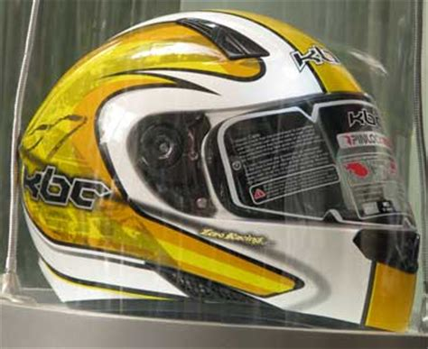 Helm Kbc Putih kbc luncurkan helm import sni 550rb spareparts murah