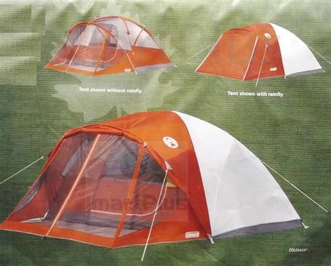 Coleman 4 Person Evanston Tent With Screened Porch Canopy coleman screened 4 person evanston cing tent great for backpacking 9 x 7 new ebay