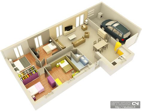 plan de maison gratuit 3d en 3d architecture pinterest and review plan de maison 3d 100m2