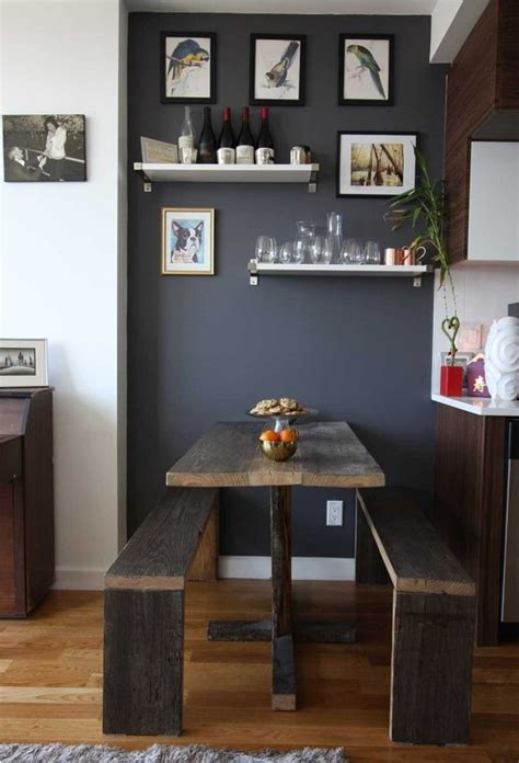 kitchen tables for small areas 7 ways to fit a dining area in your small space and make