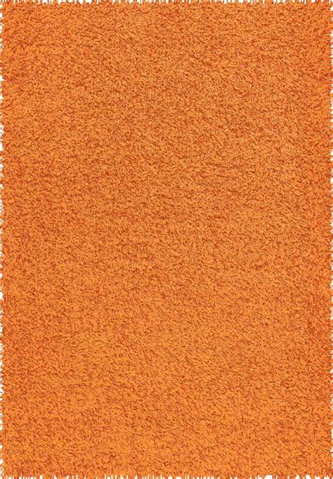 Orange Shag Area Rug creative home area rugs creative solid shag rug 5699 388
