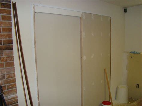 pocket door installation existing wall