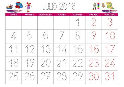 Calendario Lunar Junio 2015 Usa Calendarios 2016 Con Dibujos Para Ni 241 Os Para Descargar E