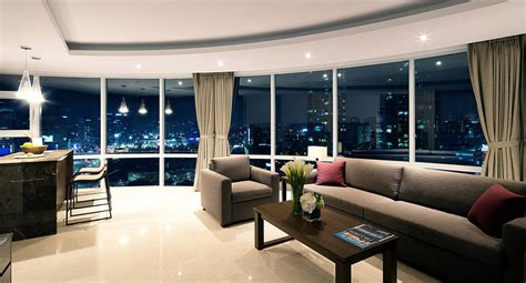 penthouse appartment luxurious penthouse apartments fraser place central seoul