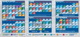 la dodgers home schedule dodger pocket schedules dodgers fan forum